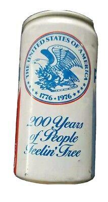 Pepsi cola collectors 1776-1976 aluminum soda can pull top lid