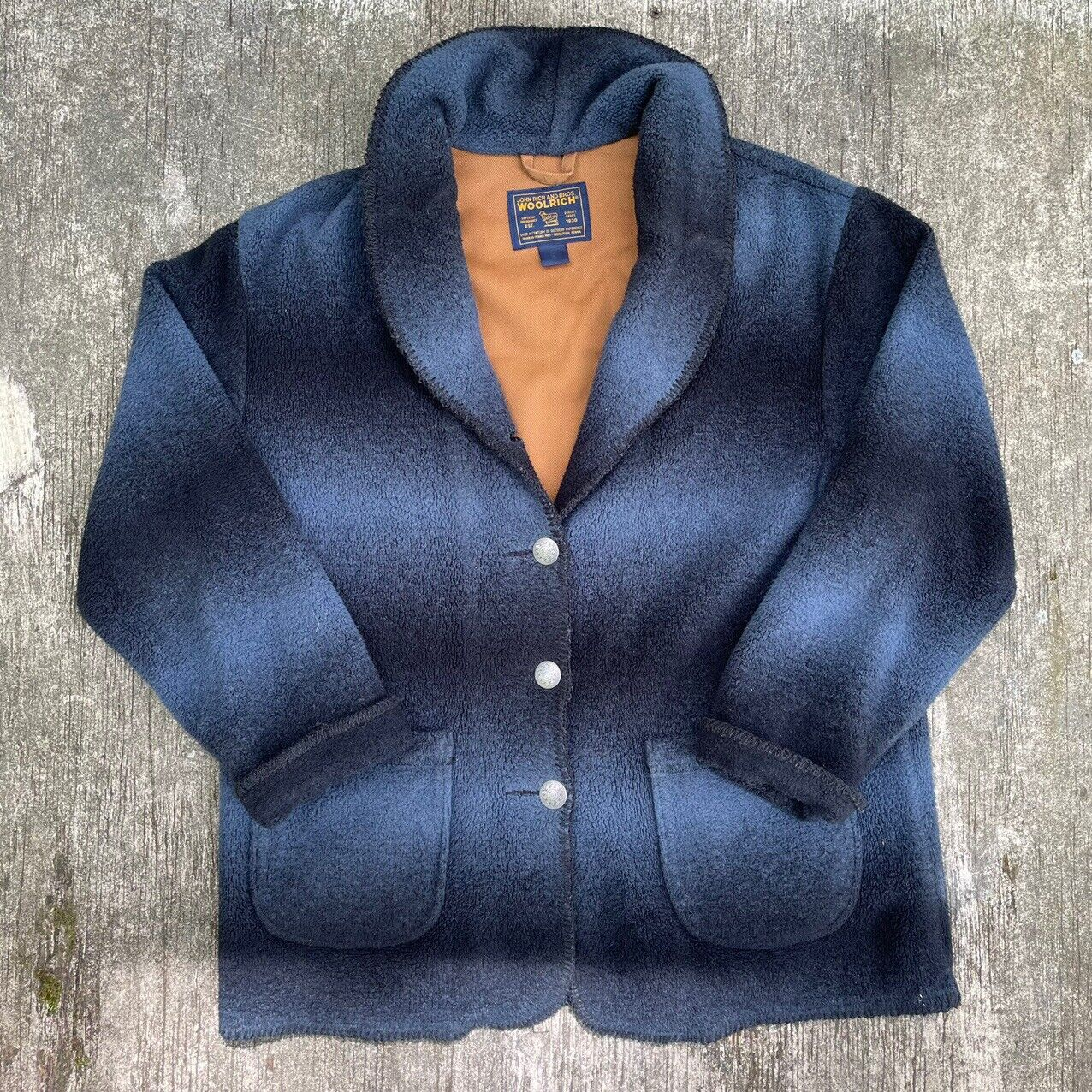 vintage woolrich john rich and bros  womens wool … - image 1