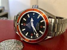 omega seamaster professional planet ocean coaxial 2500 42mm watch ebay