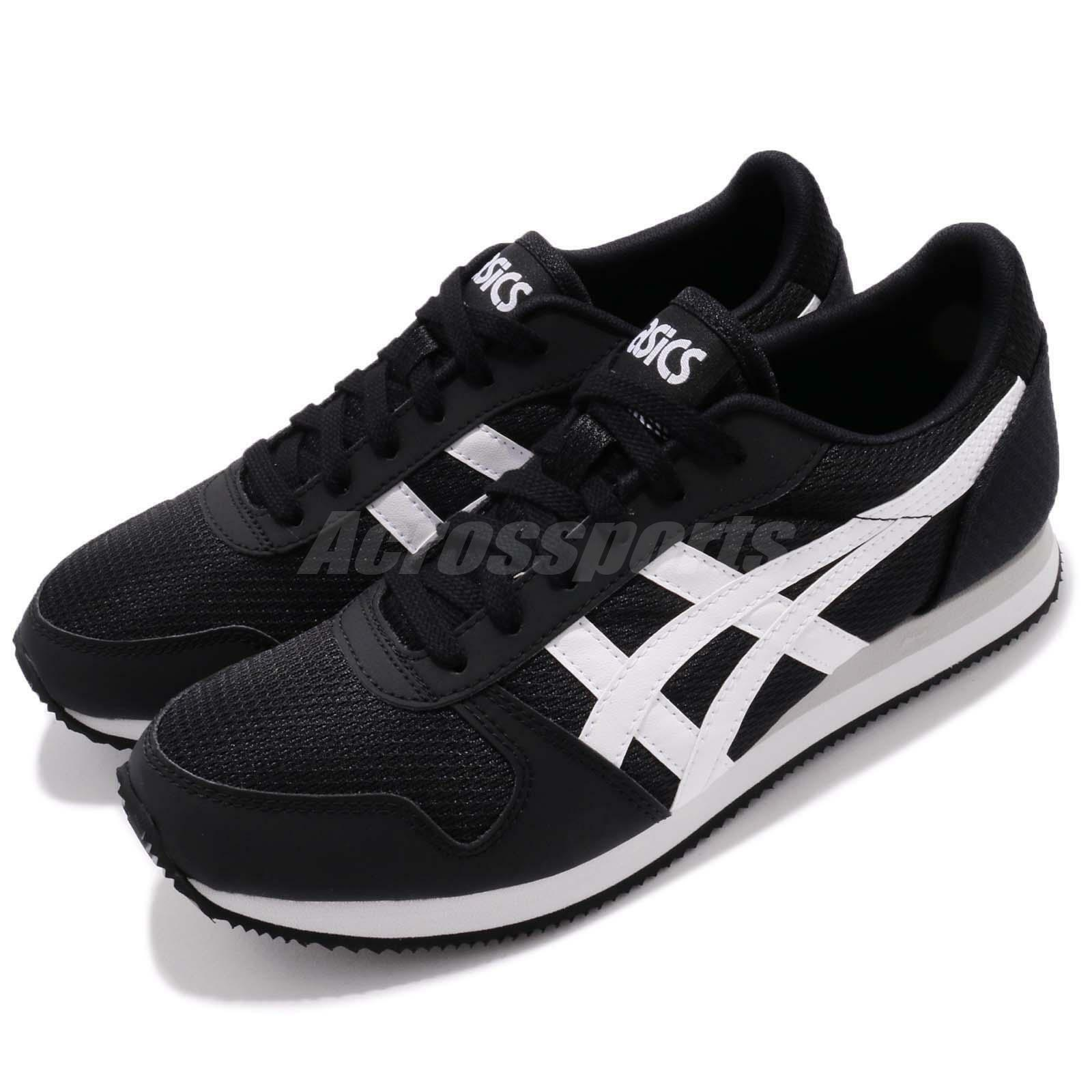 f65735992155 Asics Tiger Curreo II 2 Black White Men Running Shoes Shoes Shoes Sneaker  Trainer HN7A0-