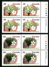 CANADA - 1991 - Alberi da frutto - Dent. diversa