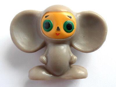 1970s Russian Soviet Characters Toy Plastic Doll Cheburashka