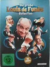 Große Louis de Funes Collection, 16 DVD Sammlung - Balduin, Kohlköpfe, Querkopf