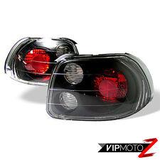 93-97 Del Sol S/Si/VTEC EG EH Black JDM Tail Light Signal Lamp Left+Right B16
