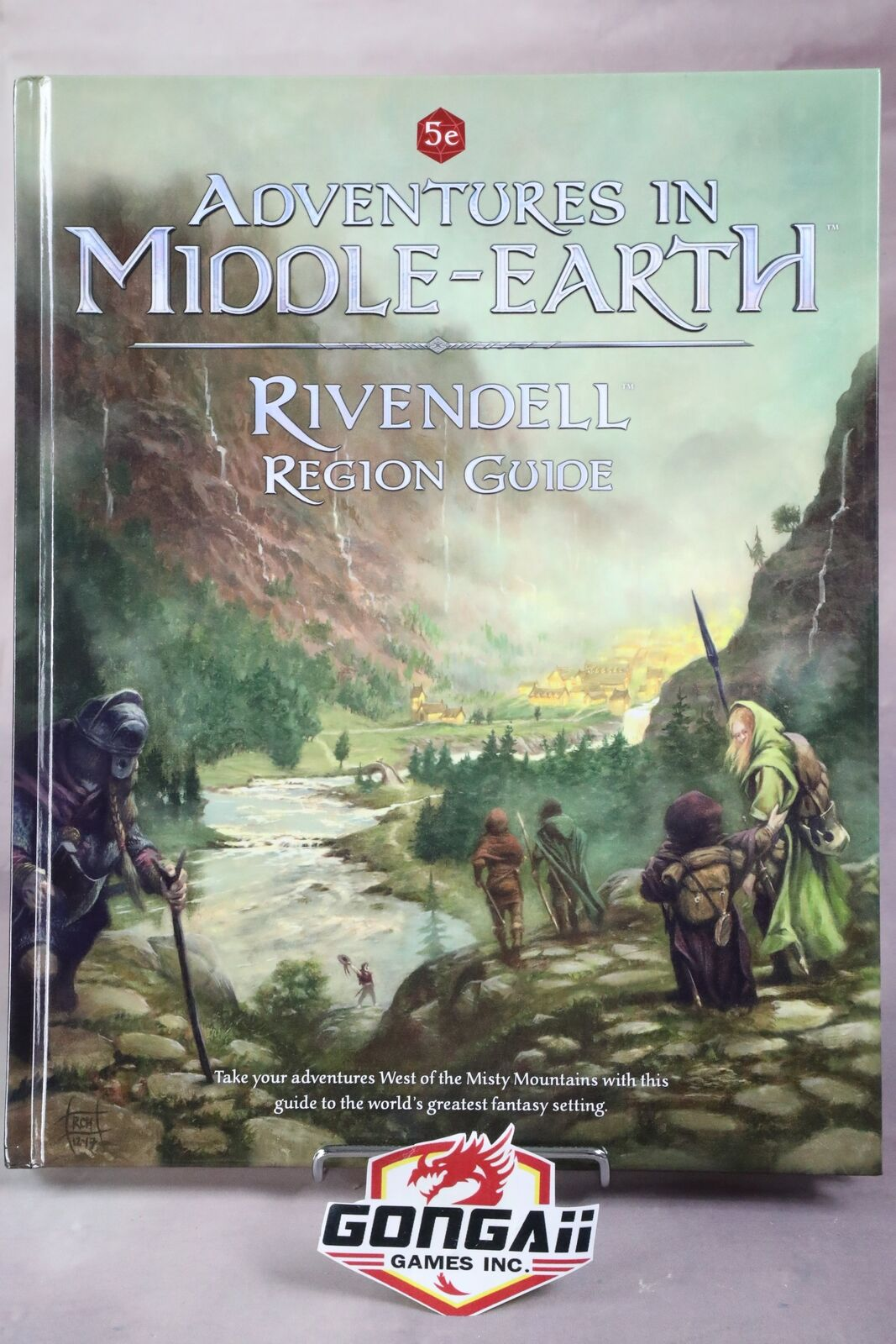 Dungeons and Dragons RPG  Adventures in Middle-Earth - Rivendell Region Guide