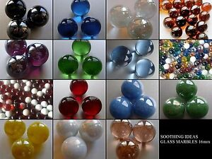 300g-app-52-Decorative-Glass-Marbles-16mm-Home-Garden-Wedding-Craft-17-Colours