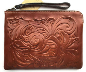 Patricia-Nash-Cassini-Florence-tooled-leather-wristlet-wallet-bag
