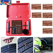 37 Pcs Tire Repair Tools Tire Plug Patch Puncture Flat Tire Car Truck Motorcycle