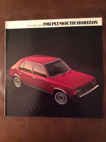 1981 Plymouth Horizon Sales Brochure