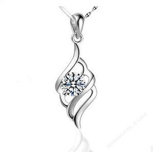 925-Sterling-Silber-Anhaenger-fuer-Halsketten-lang-Damen-Schmuck-edel-Luxus-FERANI