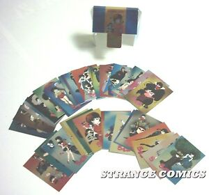 RANMA 1/2 THE CHARACTERS Set Completo Chromium Cards (Duemme Publishing)