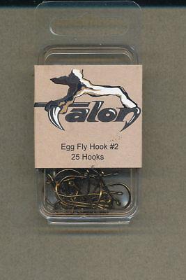 Egg Hook size 06 E217 qty 25 Talon