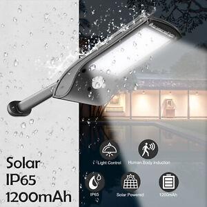 36 LED Solar Wall Street Light IP65 Waterproof PIR Motion Sensor Outdoor Lamp US