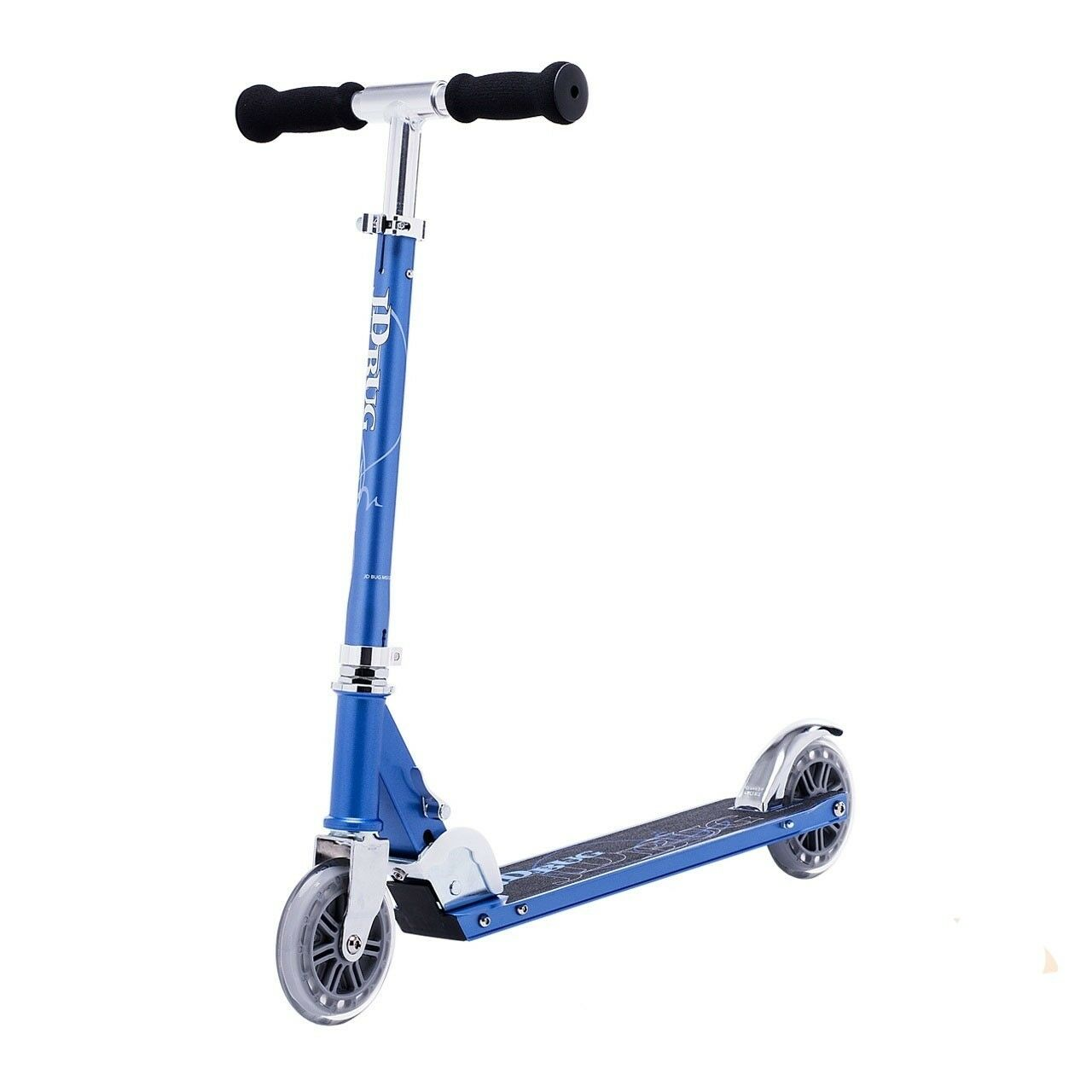 JD Bug Original Street  120 Series  Scooter Adjustable Folding Scooter  - Reflex Blau 1b981a