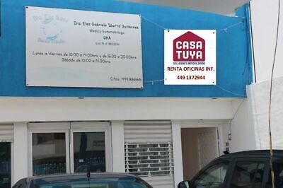 CASATUYA, OFICINA EN RENTA A UN COSTADO DEL INEGI, 11 m2 . AGUASCALIENTES