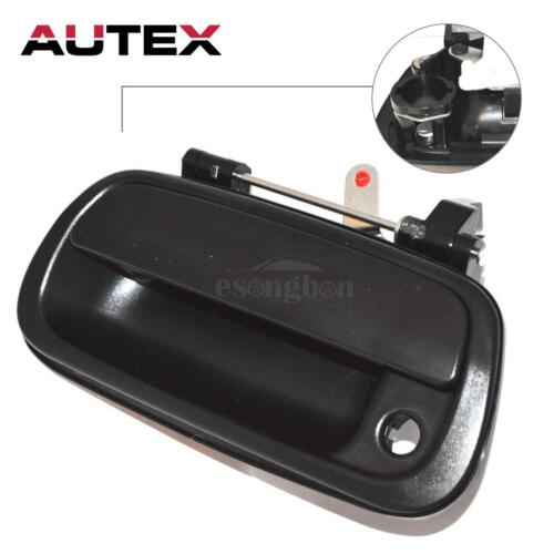 Black Tailgate Liftgate Door Handle Rear Latch Handle for 00-2007 Toyota Tundra