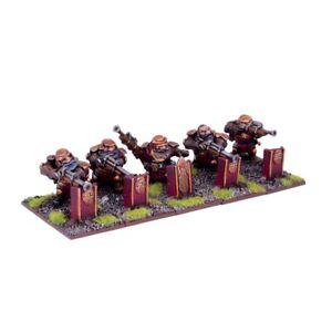 Mantic-Reyes-De-Guerra-enano-francotiradores-x5-tropa-RAPIDO-y-LIBRE-P-amp-P-Warhammer