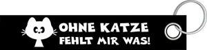 Amical Sans Chat Chats Cats Cat Me Manque Ce Qui Porte Clé Porte-clés Lanyard-ger Schlüsselband Lanyard Fr-fr Afficher Le Titre D'origine Frissons Et Douleurs