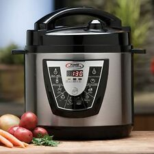 Stainless Steel 10 quart Electric Power Pressure Cooker XL as seen TV NEW