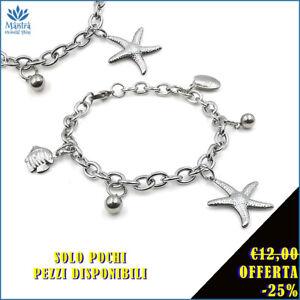 Bracciale-da-donna-braccialetto-con-stella-marina-a-catena-maglia-in-acciaio