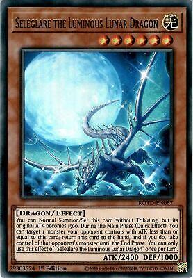1st Ed Seleglare The Luminous Lunar Dragon ROTD-EN087 Ultra Rare Yu-Gi-Oh!