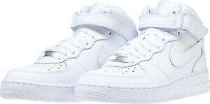 Nike Air Force 1 MID Grade School White