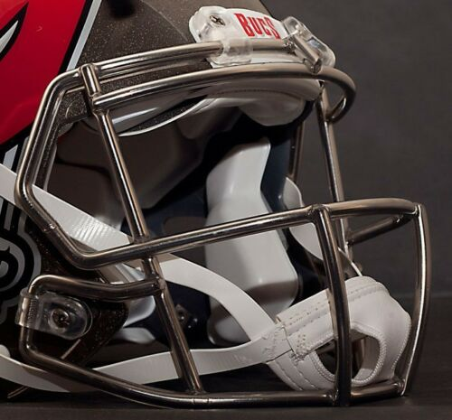 METALLIC BLACK ADULT LARGE Riddell SPEED Football Helmet w//S2BD-SW-SP Facemask