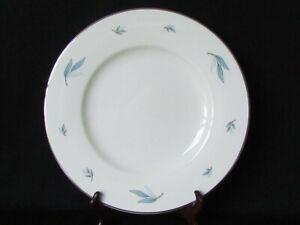 "Vintage Syracuse CELESTE  10 1/4"" Dinner Plate MCM Platinum Trim USA"