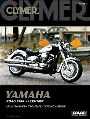 details about clymer repair manual for yamaha road star roadstar 1999-2005