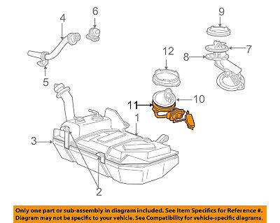 FORD OEM Fuel System-Fuel Sender Unit Gasket 3S4Z9276AA