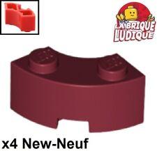D251 LEGO 85080 YELLOW x 2 BRICK Round Corner 2 x 2 Macaroni Reinforced