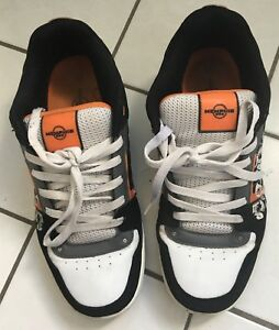 "Details zu Sneaker, ""Memphis One"" Herren Sneaker, SchwarzWeißOrange, Gr.45, Sport Schuh"