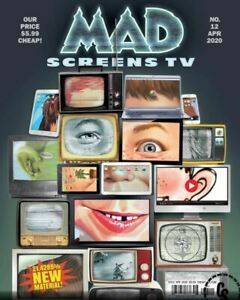 MAD MAGAZINE #12 APRIL 2020 Boob Tube MashUps We Can't Wait to See + More ! (b)