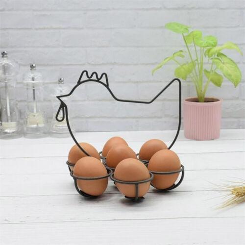 Egg Storage Bracket Hen Stand Holder Stand Iron Craft Home Supplies New