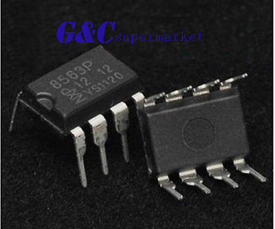 10PCS IC PCF8563P PCF8563  Real-time clock DIP8 NXP NEW GOOD QUALITY