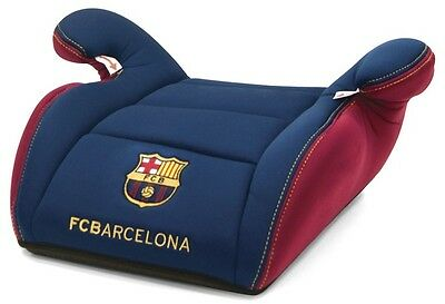 Official FCB Barcelona Navy & Red Child Junior Padded Booster Car Seat Cushion