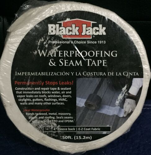 Black Jack 4 in x 50 ft Waterproofing /& Seam Tape
