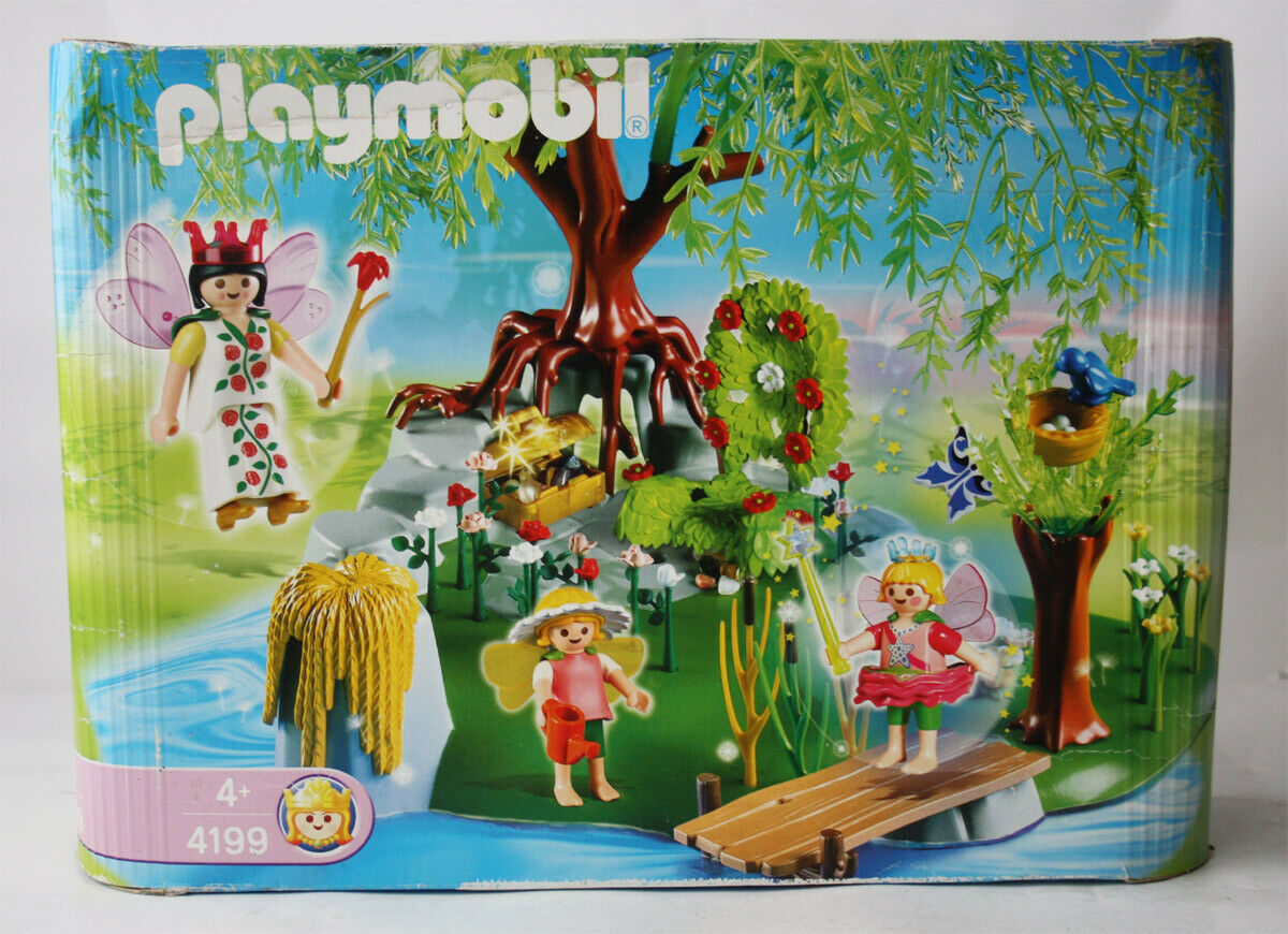 2006 PLAYMOBIL 4199 FAIRY TALES GARDEN QUEEN ISLAND PLAYSET NEW SEALED MISB