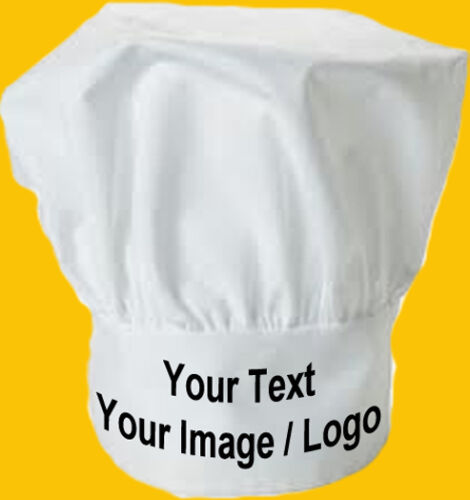 Cooking Baking Chef Kitchen Corporate Cook Personalised Custom Chef/'s Hat