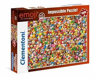 Clementoni-39388-Impossible-Emoji-Puzzle-1000-Piece