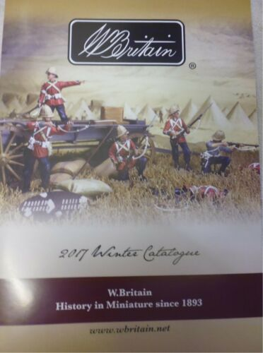 William Britain Soldiers WBC0517-2017 Winter Collection Catalogue