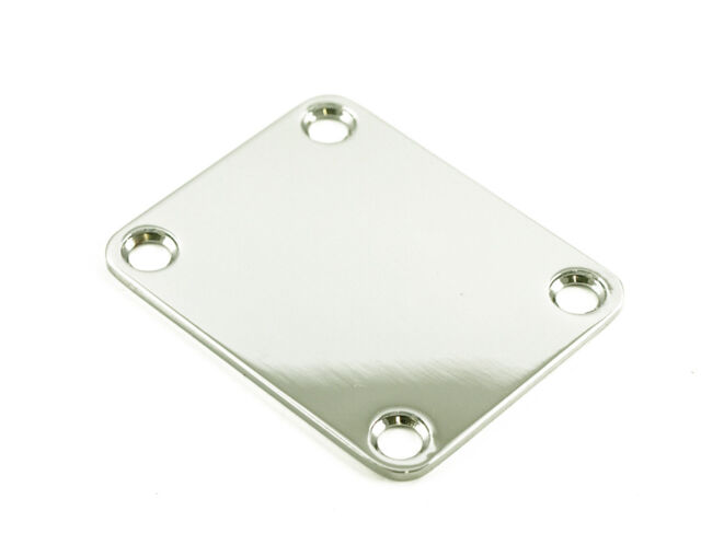 WD Music 4 Hole Neck Plate Black Fits Fender /& Charvel NBS3B