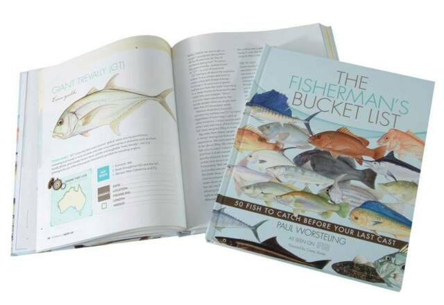 The Fishermans Bucket List Book- By Paul Worsteling