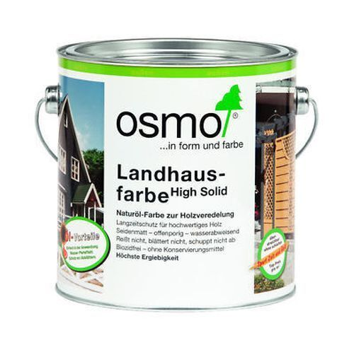 2,5L Osmo Color Landhausfarbe Steingrau 2704