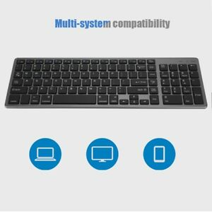 Ultra-Slim-102-Keys-Wireless-Bluetooth-Touchpad-Scissors-Feet-Design-Keyboard-TG