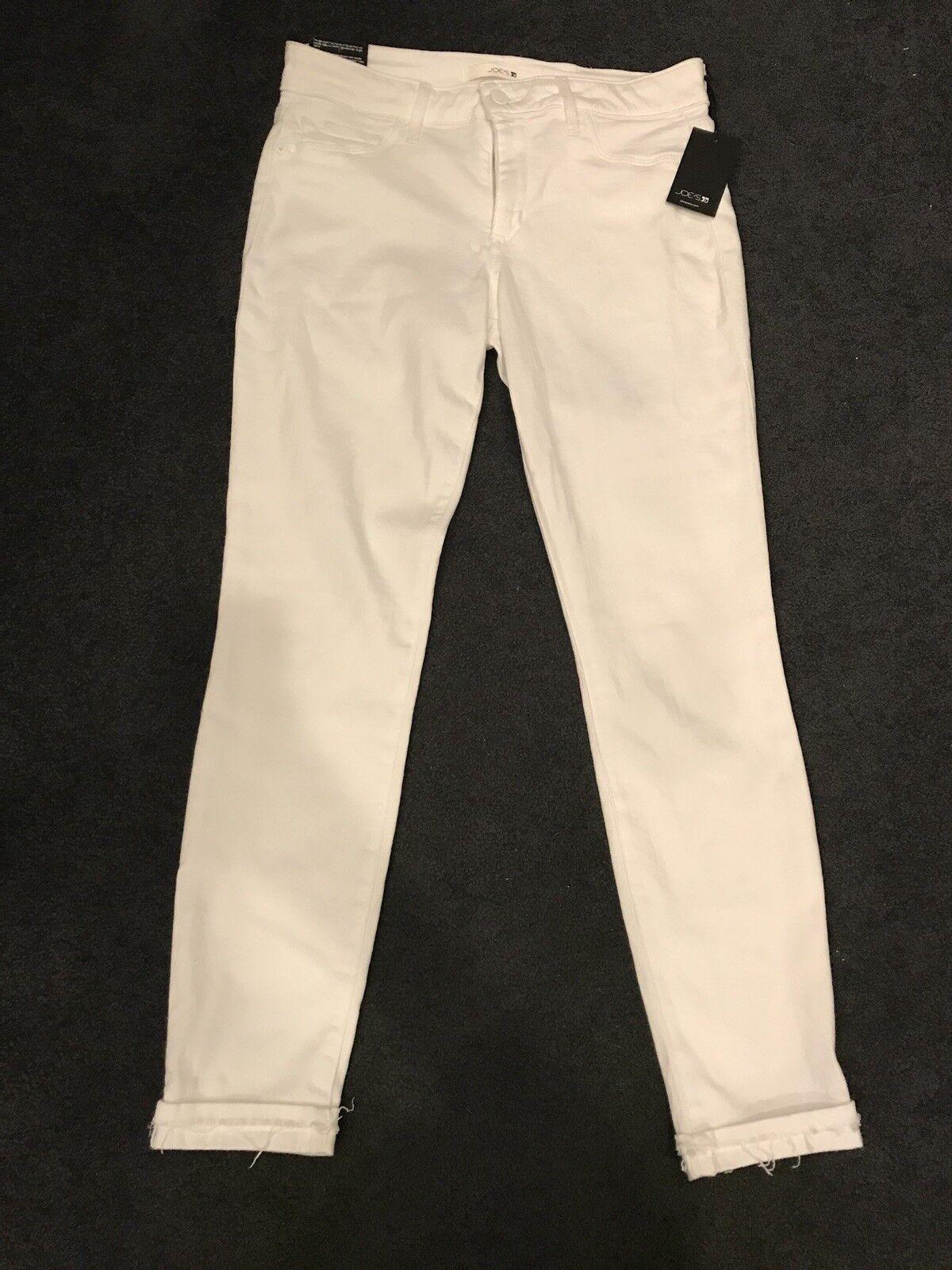 Joe's Jeans NWT Flawless Skinny Crop White Sz 27