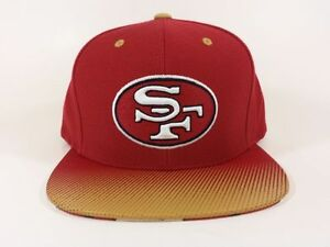 Mitchell-amp-Ness-San-Francisco-49-NFL-Stop-on-a-Dime-Snapback-Hat-Cap