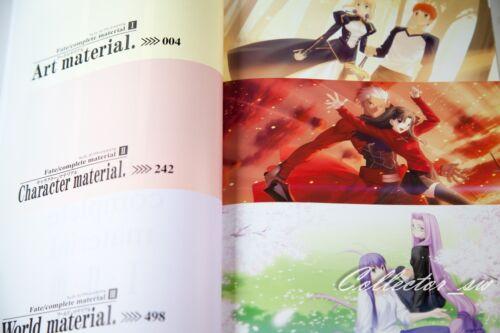 3-7 Days JPFate//Complete Material I II III Art Book Case