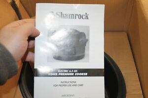 New-Shamrock-6-5-Qt-Stainless-Steel-Nonstick-Pressure-Cooker-w-Voice-Command