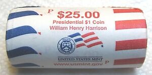 """2009 D Zachary Taylor Presidential /""""Unopened/"""" Mint Dollar 25 Coin ROLL"""